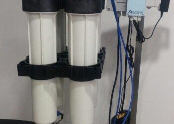 Διάταξη αντίστροφης όσμωσης Commercial Combo 160 ( παραγωγή 160 lt/ ώρα) με εγκατεστημένο αγωγιμόμετρο EC guard.