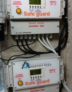 Εγκατάσταση διάταξης Safe Guard σε μηχανοστάσιο πισίνας με 10 αντλίες σε ξενοδοχειακό συγκρότημα.