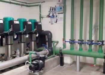 Εγκατάσταση διάταξης Pool Guard Advanced σε μηχανοστάσιο νεόδμητου ξενοδοχειακού συγκροτήματος.