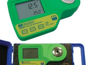 Ψηφιακά διαθλασίμετρα μέτρησης φυσικοχημικών παραμέτρων υγρών. Fructose, Glucose, Brix, Brix %, Invert Sugar, Potential alkohol, Baume, Salinity κ.α.