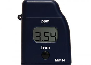 Φωτόμετρα τσέπης για μέτρηση φυσικοχημικών παραμέτρων του νερού όπως ελεύθερο και ολικό χλώριο, ιώδιο, φώσφορος, σίδηρος κ.α.