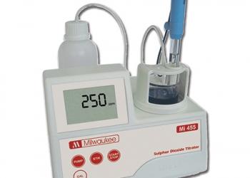 Όργανα μέτρησης - ανάλυσης του κρασιού. Μέτρηση συνολικής ογκομετρούμενης οξύτητας, ολικού και ελεύθερου διοξειδίου του θείου.