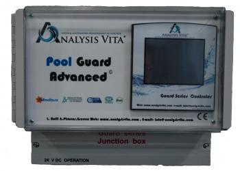 Pool Guard Advanced control panel για ιδιωτικές και δημόσιες πισίνες.