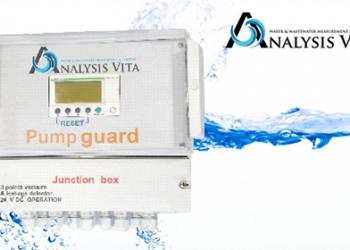 Pump guard control panel για έλεγχο της λειτουργίας του αντλιοστασίου.